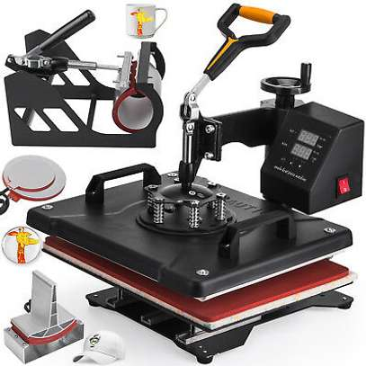 combo 5 in 1 Heat press machine image 2