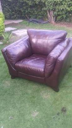 Leather Sofa Dye and Seat Repair image 8