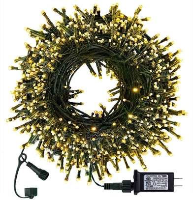 Indoor Outdoor Holiday Decorations - Warm White image 1