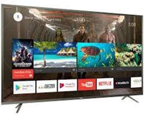 TCL Uhd Android 4K TV 55inches Brand New image 1
