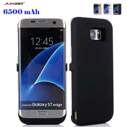 JLW 6500mAh Battery Case For Samsung Galaxy S7 Edge Smart Charger Cover For Samsung Galaxy S7 Edge Power Bank image 1