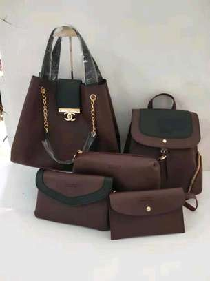 5in 1 Leather Handbags image 3