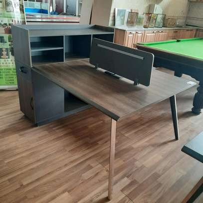 Office Table With Cabinet image 1