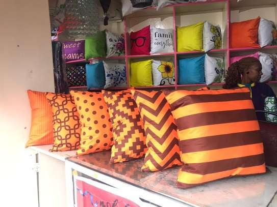 Egyptian Throw Away Pillow Covers image 4