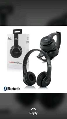 P47 bluetooth headphones image 1