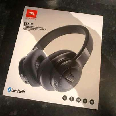 Jbl E55BT Wireless On-Ear Headphones brand new and sealed in a shop image 1