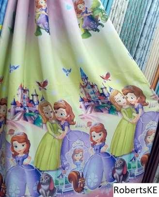 sofia themed kids curtains image 1