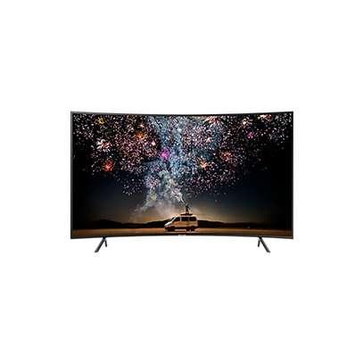Samsung 55 Inch HDR 4K UHD Smart Curved LED TV UA55RU7300K 2019 MODEL image 1