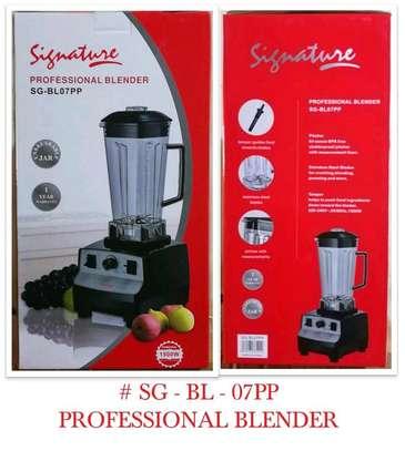 Signature blender/commercial signature blender image 1