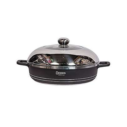 Dessini 10 Pcs Non-Stick Cooking & Serving Pots & Pans image 3