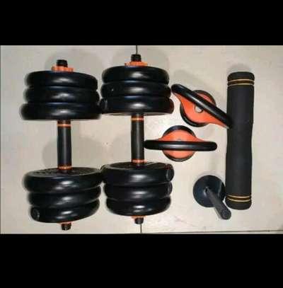 PVC DUMBELLS set image 1