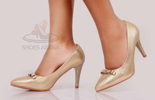 Shinny High heels image 7
