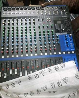 Yamaha 16 Channel Music Mixer MR16XU image 1