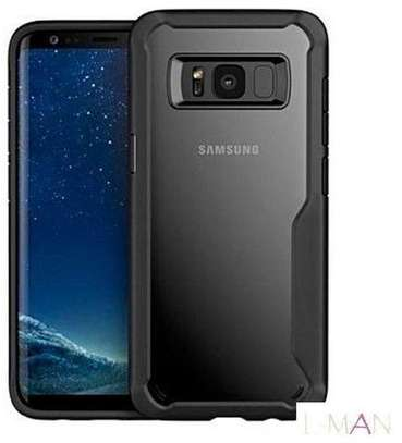 IPAKY Hybrid Shockproof Transparent Case for Samsung Note 8 image 3