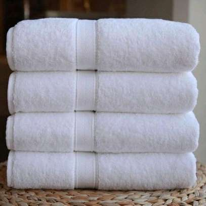 cotton white towels image 1