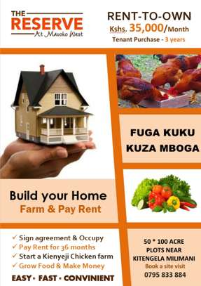 Rent-to-Own : Plots for sale Mavoko West