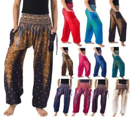 High waist harem pants image 3