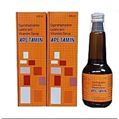 APETAMIN LIQUID KENYA | WEIGHT GAIN | APPETITE | MULTIVITAMIN – 200ML image 1