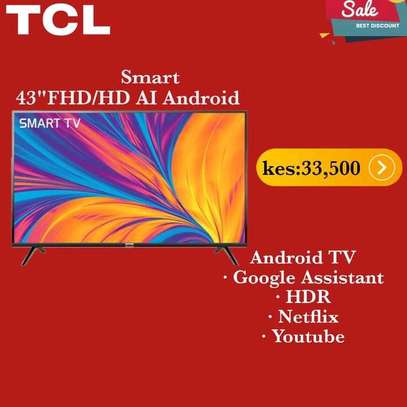43 TCL Android Full HD TV - NetFlix image 1