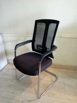 Mesh Waiting Seat-Black image 3