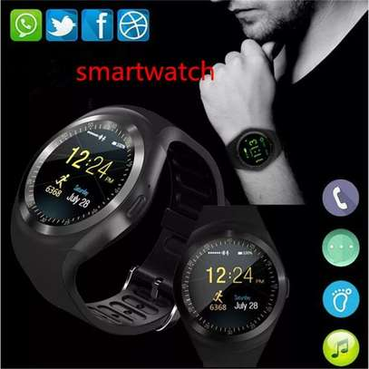 Hot Sale Y1 Sleep Monitor Bluetooth Call Fitness Track Pedometer Smart Watch for Android New