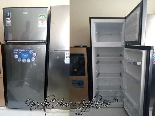 Mika Refrigerator, 201L, Direct Cool, Double Door, Silver