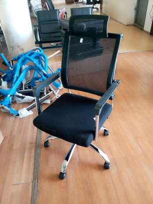 Fabric office chair image 2
