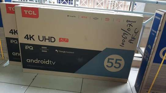 55inch tcl 55P615 android 4k tv image 1