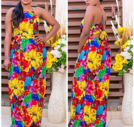 Maxi dress available @ Naice Afrique Collections. image 1