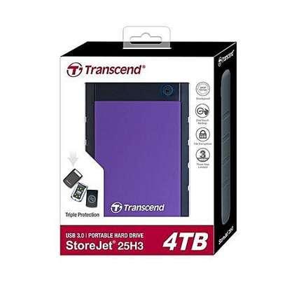 Transcend 4TB StoreJet 25H3 USB 3.1 External Hard Drive image 1