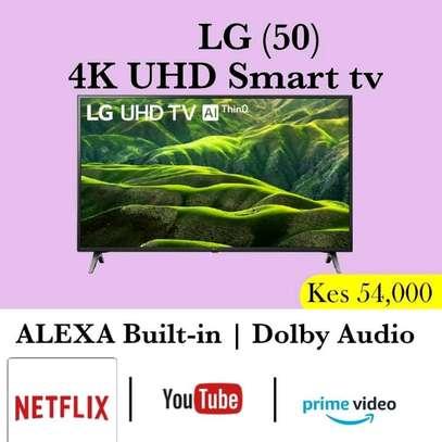 50 inch LG Smart UHD 4K LED - NetFlix image 1
