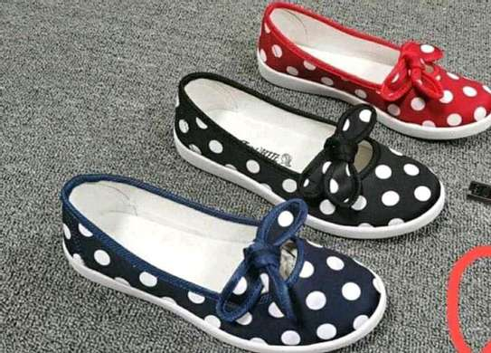 Dotted Rubber shoes. image 1