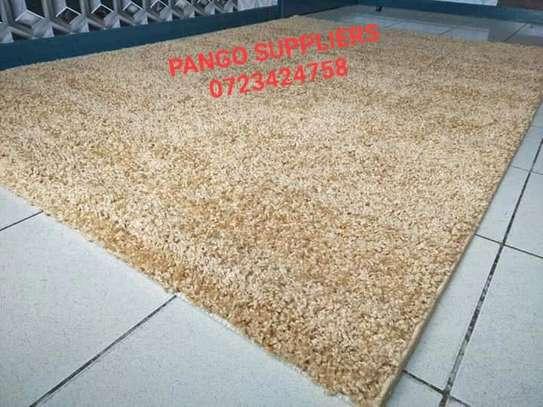 Turkish shaggy carpets(6'9) image 2