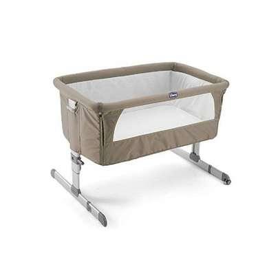 "Side Sleeping Crib Next2Me ""Dove Grey"" Baby Crib Next 2 Me, baby bed,baby cot. image 4"