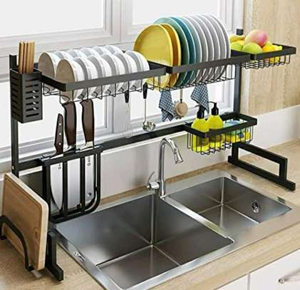 Over the sink dish drainer image 3