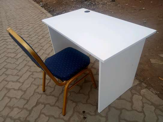 Study desk and chair image 1