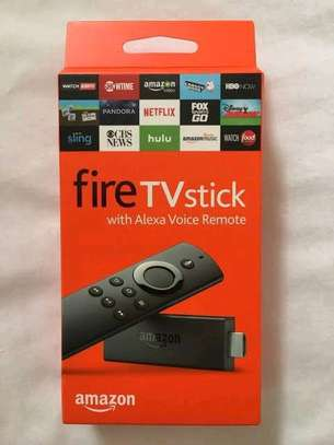 AMAZON FIRE TV STICK 4K WITH NEW ALEXA VOICE REMOTE STREAMING PLAYER, NEW IN BOX image 2