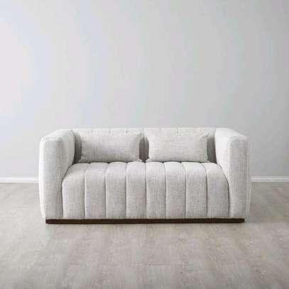 Two seater sofa designs/sofas for sale in Nairobi Kenya/Latest sofa set/Tufted sofa ideas image 1