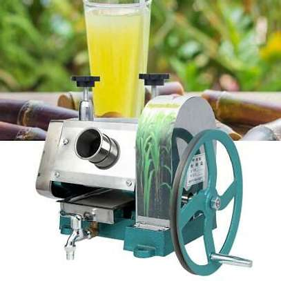 Manual Sugar Cane Ginger Press Juicer Juice Machine Commercial Extractor Mill image 1