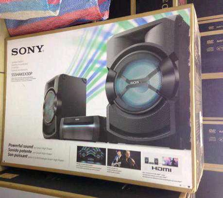 SONY SHAKE X30 HIGH POWER SYSTEM WITH DVD image 1