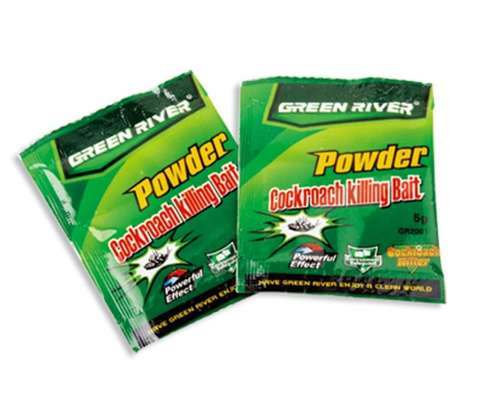 Cockroach Killing Bait Insecticide Powder - 50 Pcs per Box image 2