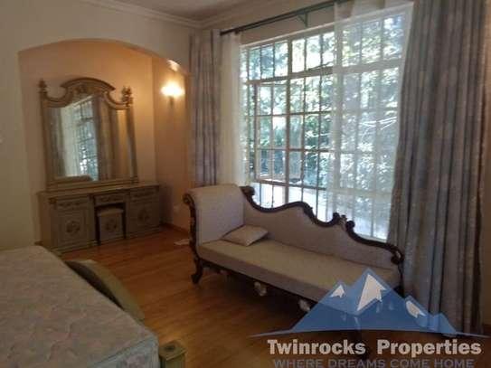 Furnished 4 bedroom house for rent in Karen image 19