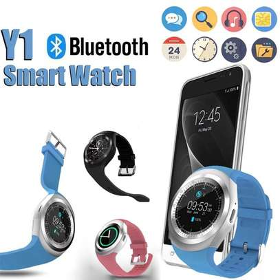 Y1 PLUS Smart Watch With Camera Bluetooth Phone Mate Touch Screen IOS Android image 1