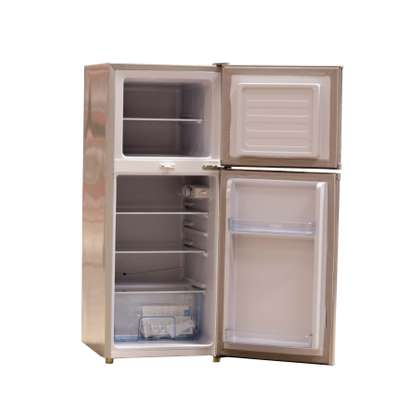 ICECOOL 118 LITRES DOUBLE DOOR DIRECT COOL FRIDGE -BCD118 image 2