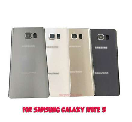 Battery Cover Replacement Back Door Housing Case For Samsung Galaxy Note 5 image 5