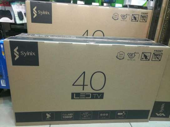 Syinix LED 40 Inch Digital Tv -2 year warranty
