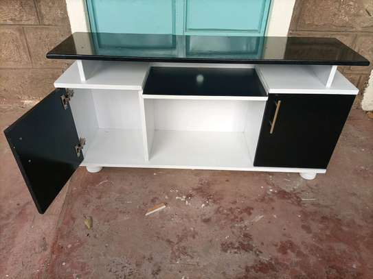 Wooden tv stand 309q image 1