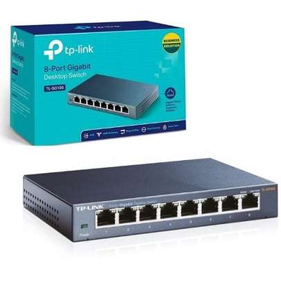TP-Link TL-SG108   8-Port 10/100/1000Mbps image 1