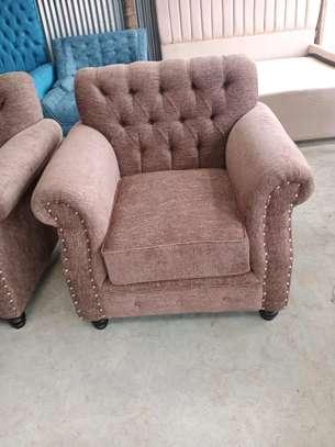 One seater sofa/tufted sofas/single seater sofa image 2