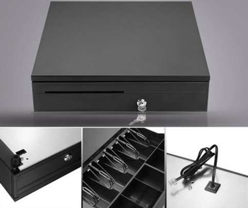 Brand New Cash Drawer For POS With Slots image 2